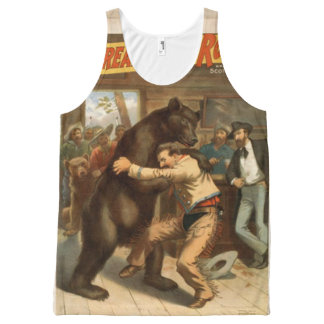 wrestling All-Over-Print tank top