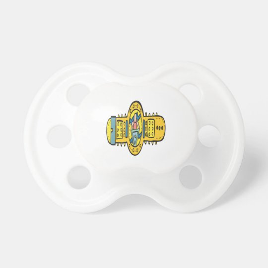 Wrestling Championship Belt Baby Pacifiers