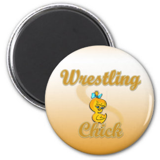 Wrestling Chick Magnet