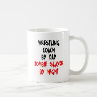 Wrestling Coach Zombie Slayer Coffee Mug
