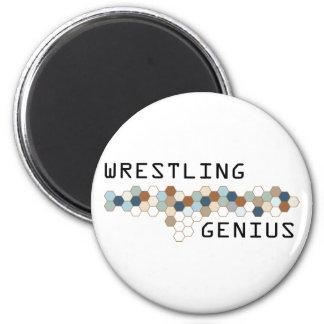 Wrestling Genius Magnet