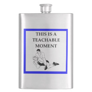 wrestling hip flask