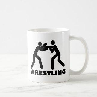 wrestling icon coffee mug