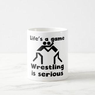 Wrestling Is Serious Coffee Mug