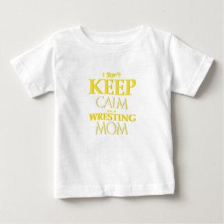 Wrestling Mom Wrestle Wrestling Funny Baby T-Shirt