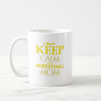 Wrestling Mom Wrestle Wrestling Funny Coffee Mug