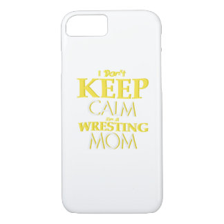 Wrestling Mom Wrestle Wrestling Funny iPhone 8/7 Case