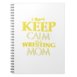 Wrestling Mom Wrestle Wrestling Funny Notebook