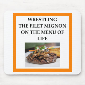 WRESTLING MOUSE PAD