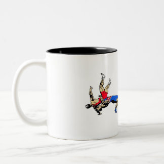 Wrestling Mug To Dad From His Favorite Wrestler