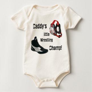 Wrestling Onesy Baby Bodysuit