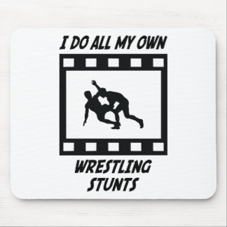 Wrestling Stunts Mouse Mats