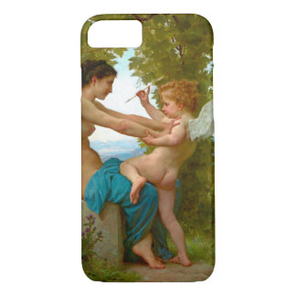 Wrestling with Cupid 1880 iPhone 7 Case