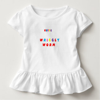 Wriggle Worm Onepiece Toddler T-shirt