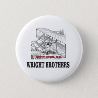 wright brother history 2 inch round button