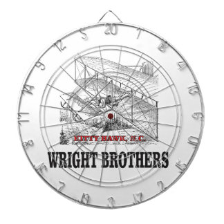 wright brother history dartboard