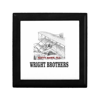 wright brother history gift box