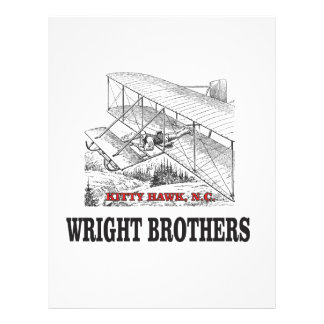 wright brother history letterhead