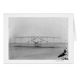 Wright Brothers 1903 Machine (front view) Card