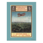 Wright Brothers Plane Postcard