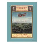 Wright Brothers Plane Postcard