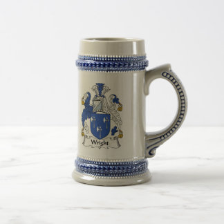 Wright Coat of Arms Stein - Family Crest