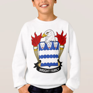 Wright Family Coat of Arms Sweatshirt