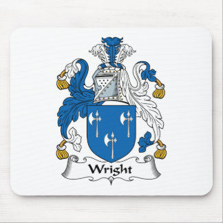 Wright Family Crest Mouse Pad