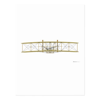 Wright Flyer 1903  Front View Postcard