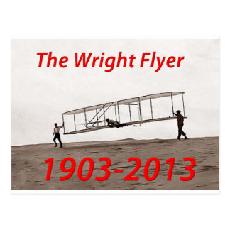 Wright Flyer Anniversary (1903-2013) Postcard