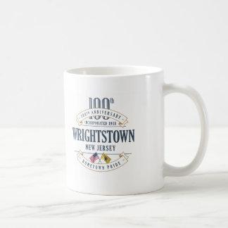 Wrightstown, New Jersey 100th Anniversary Mug