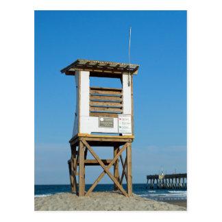 Wrightsville Beach Lifeguard Stand 5 Postcard