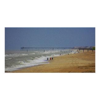 Wrightsville Beach Longshot Photo Card Template