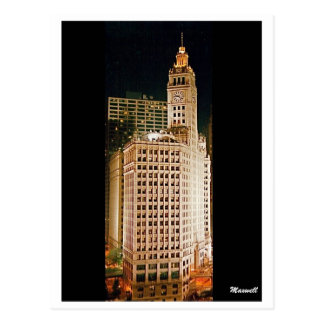 Wrigley Building Postcard