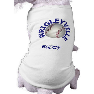 Wrigleyville Custom Name Canine Shirt