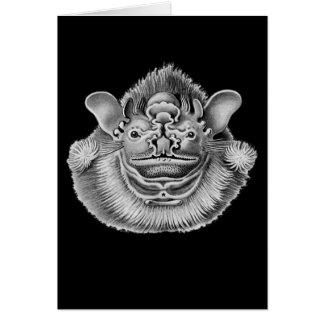 Wrinkle-faced Bat Card