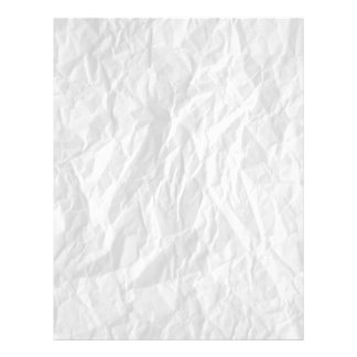 Wrinkled paper background image writing paper