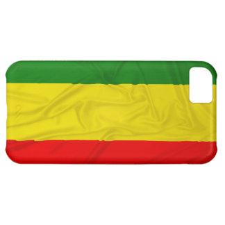 Wrinkled Rastafarian Flag iPhone 5C Cover