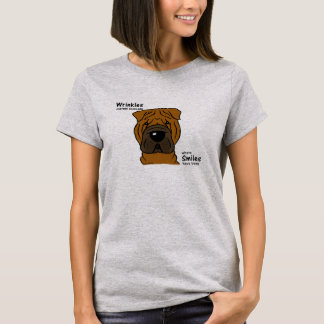 Wrinkles merely indicate smiles T-Shirt