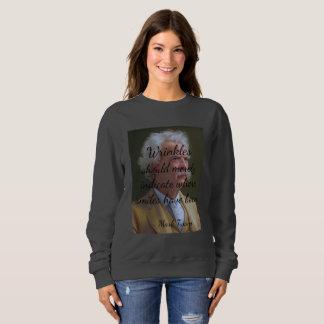 Wrinkles Were Smiles Sweatshirt