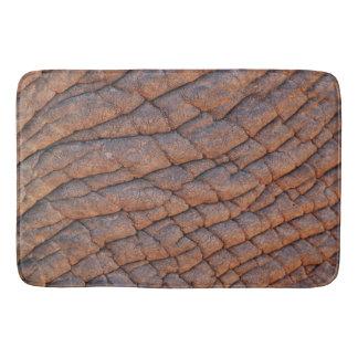 Wrinkly Elephant Skin Texture Template Bathroom Mat