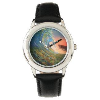 wrist watch beach wave