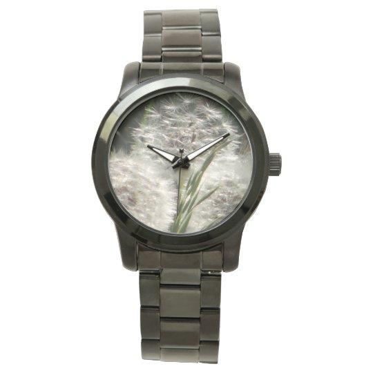 Wrist watch soft dandelion