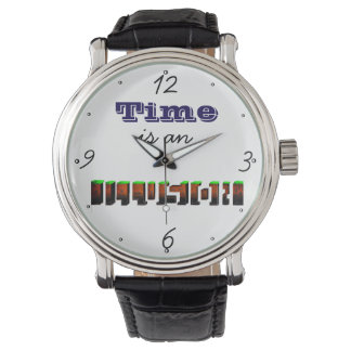 wristwatch (time is an illusion)