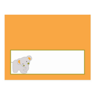 Writable Place Card Tropical Punch