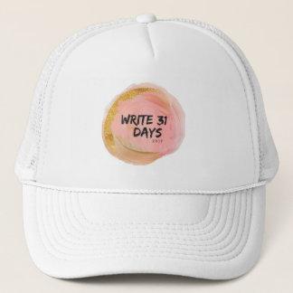 write 31 days hat