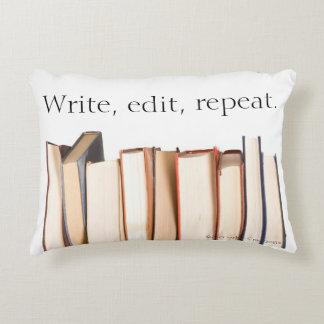 Write, edit, repeat pillow