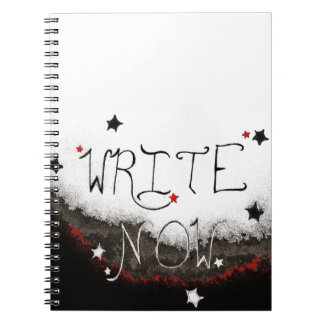 """Write Now"" Light Sky Notebook"