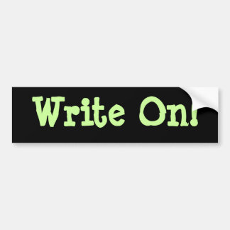 Write On! Buber Sticker
