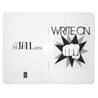 WRITE ON Pocket Notebook by TheTallMom Journal